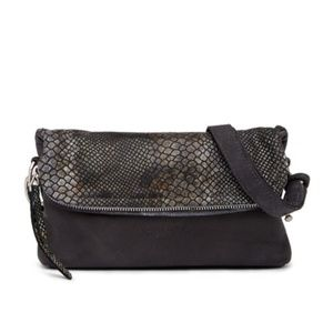 LIEBESKIND crossbody Snake Leather bag purse